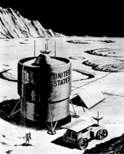 NASA's 1964 Moonbase Design